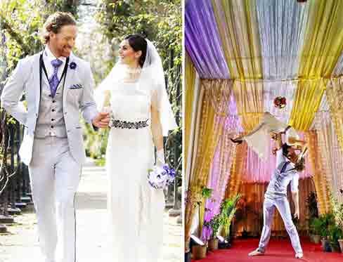 """Đám cưới vòng quanh thế giới của cặp đôi thích """"nhào lộn"""" - 8"""