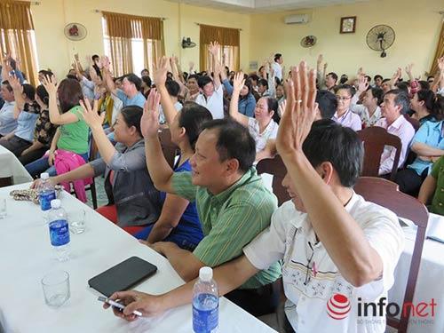 """Đà Nẵng: Dân """"thách"""" lãnh đạo để dân giơ tay biểu quyết! - 4"""