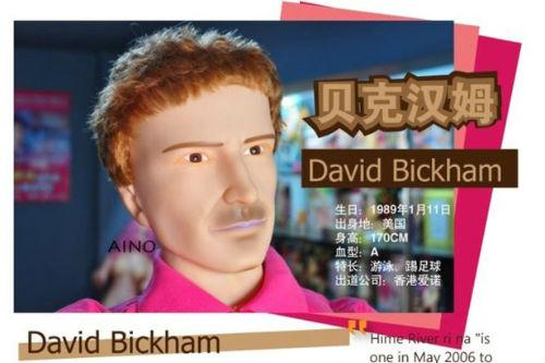 Beckham bỗng xuất hiện trên chợ sex online - 1