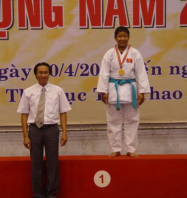 Karatedo TPHCM sẽ lấy lại vị thế từ thể thao học đường 1