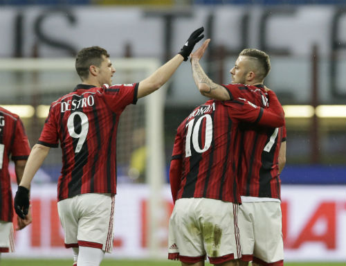 Milan - Cagliari: Niềm cảm hứng Pháp - 1