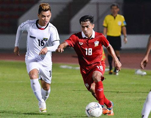 U23 Thái-U23 Việt Nam: Công Phượng so tài Messi Thái Lan - 2