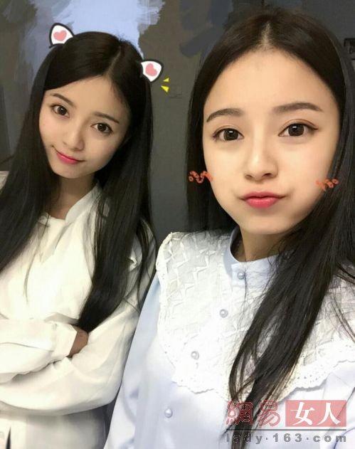 Chị em sinh đôi vừa đẹp vừa giỏi gây sốt ở Trung Quốc - 1