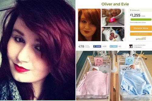 Cô gái trẻ xinh đẹp qua đời ngay sau ca sinh đôi