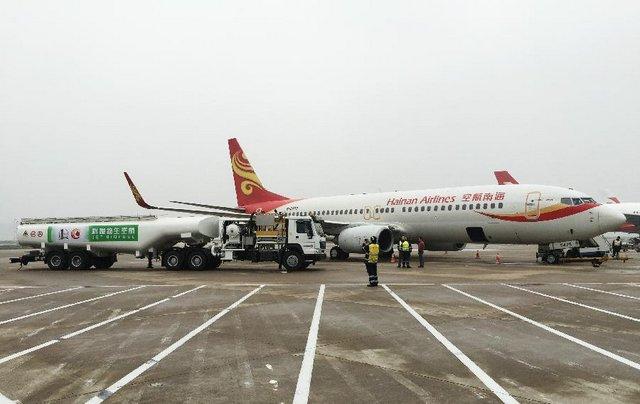 """TQ: Máy bay đầu tiên bay bằng """"dầu ăn bẩn"""" - 1"""