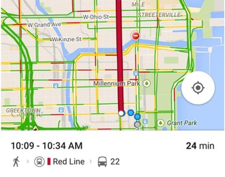 Cách dùng 4 tính năng mới của Google Maps trên IOS - 3