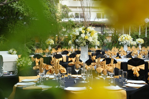 Ngắm tiệc cưới kiểu Pháp của Dustin Nguyễn và Bebe Phạm - 2