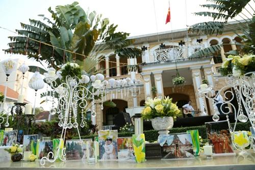 Ngắm tiệc cưới kiểu Pháp của Dustin Nguyễn và Bebe Phạm - 1