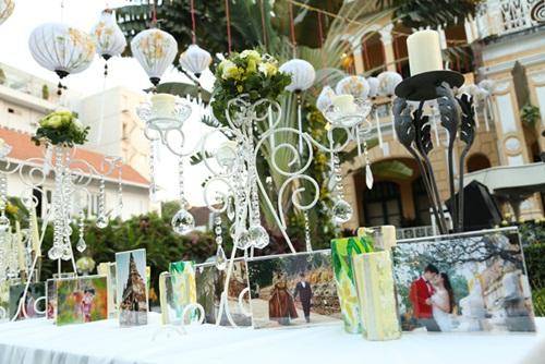 Ngắm tiệc cưới kiểu Pháp của Dustin Nguyễn và Bebe Phạm - 4