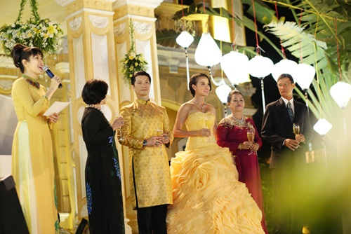 Ngắm tiệc cưới kiểu Pháp của Dustin Nguyễn và Bebe Phạm - 10