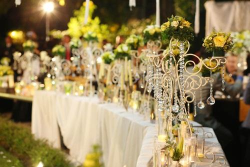 Ngắm tiệc cưới kiểu Pháp của Dustin Nguyễn và Bebe Phạm - 7