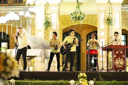 Ngắm tiệc cưới kiểu Pháp của Dustin Nguyễn và Bebe Phạm - 14