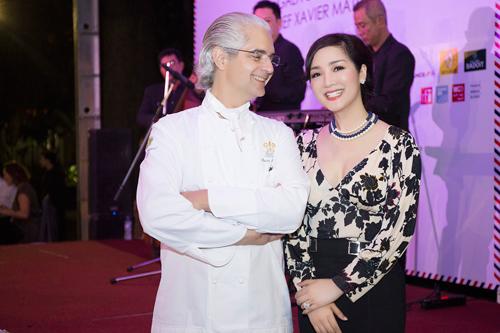 Hoa hậu Giáng My diện váy hàng hiệu gợi cảm - 7