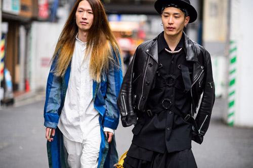 """Bạn trẻ Tokyo cực """"dị"""" với mũ tai thỏ, quần vá - 10"""
