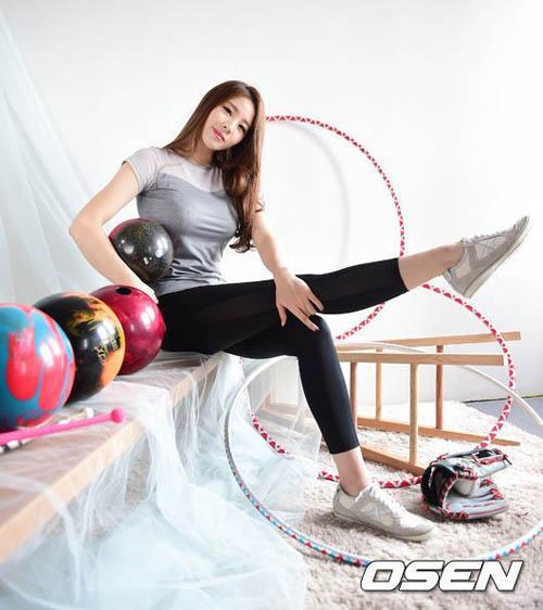 """Đường cong tuyệt hảo của """"nữ thần"""" bowling Hàn Quốc - 3"""