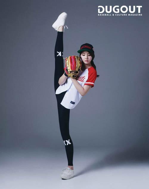 """Đường cong tuyệt hảo của """"nữ thần"""" bowling Hàn Quốc - 7"""