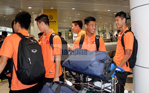 Có mặt ở Malaysia, U23 VN sẵn sàng cho trận đánh lớn - 1