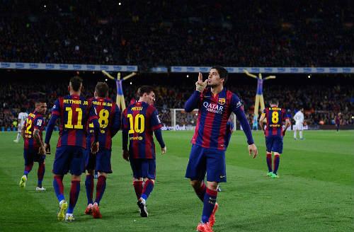 Luis Suarez: Khắc tên vào El Clasico - 2