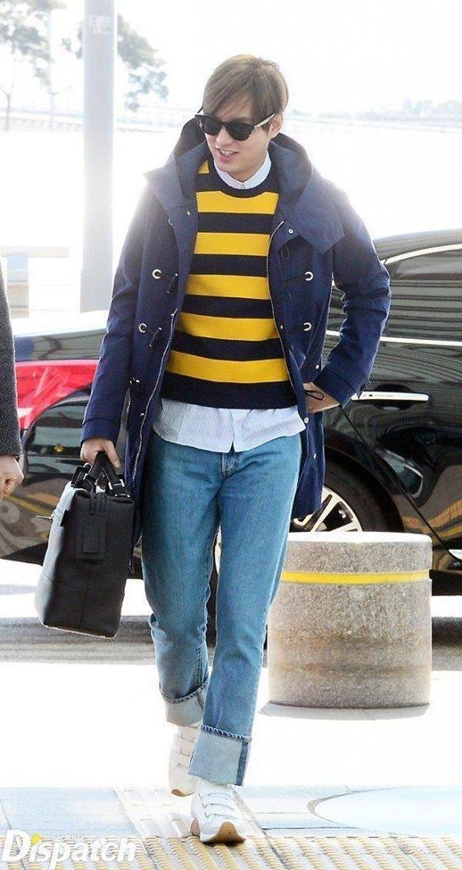 Lee Min Ho đến Pháp để thực hiện một bộ ảnh cho Dior ngày 10.3