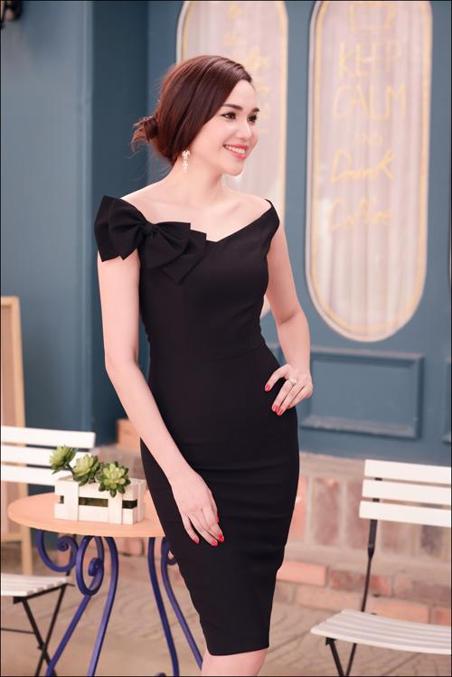 Hoa hậu Diệu Hân cuốn hút với váy hè - 6