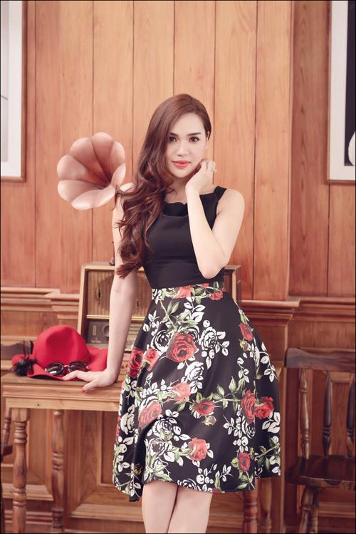Hoa hậu Diệu Hân cuốn hút với váy hè - 11