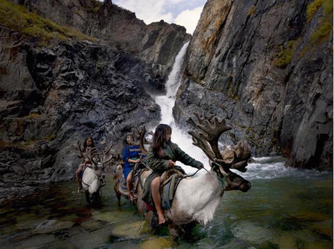 Sardar đã vô cùng ấn tượng với cuộc sống của người Dukha, bộ lạc du mục chăn nuôi tuần lộc cuối cùng ở Mông Cổ, những người đã gắn bó cả đời mình với những chú tuần lộc.