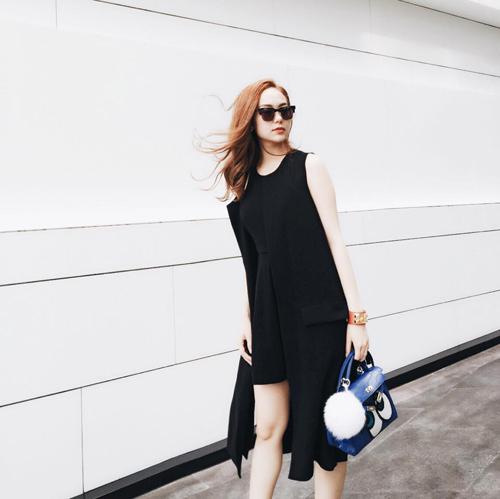 Minh Hằng mặc sành điệu dạo phố Thái Lan - 2