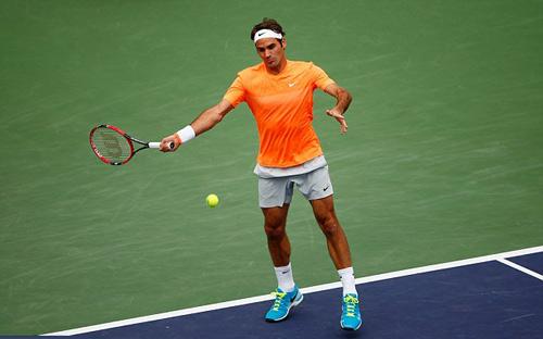 Hot shot: Federer thủ cường, công như ''vũ bão'' - 1