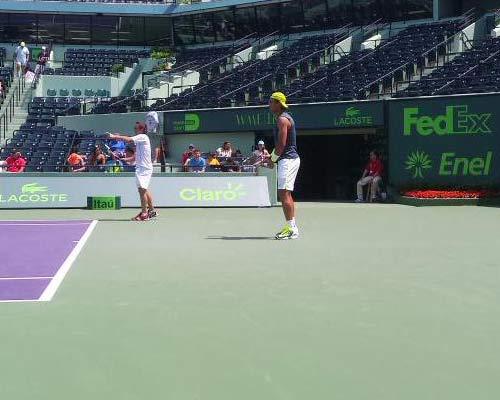 "Nadal, Sharapova chịu chung ""lời nguyền"" ở Miami - 1"