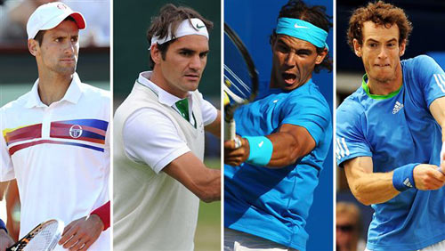 "BXH tennis 23/3: ""Tứ đại gia"" bất biến - 1"