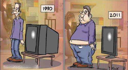 Xem truyền hình bằng truyện cười - 3