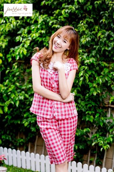 Hari Won xinh tươi trong trang phục mặc nhà Jubbie - 1