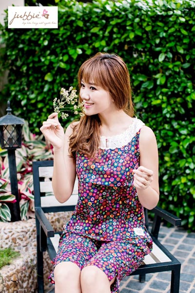Hari Won xinh tươi trong trang phục mặc nhà Jubbie - 2