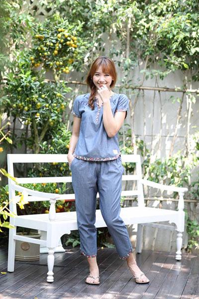 Hari Won xinh tươi trong trang phục mặc nhà Jubbie - 4