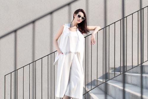 Khánh My xinh tươi, rạng rỡ dưới nắng Sài Gòn - 6