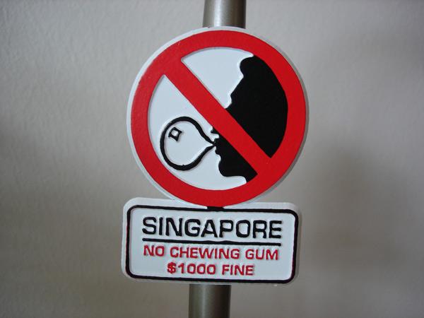 Lý Quang Diệu đã cấm kẹo cao su ở Singapore ra sao? - 3