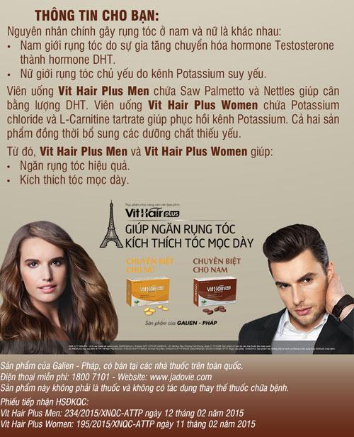 Rụng tóc ở nam giới - Chuyện tưởng nhỏ mà lớn - 4