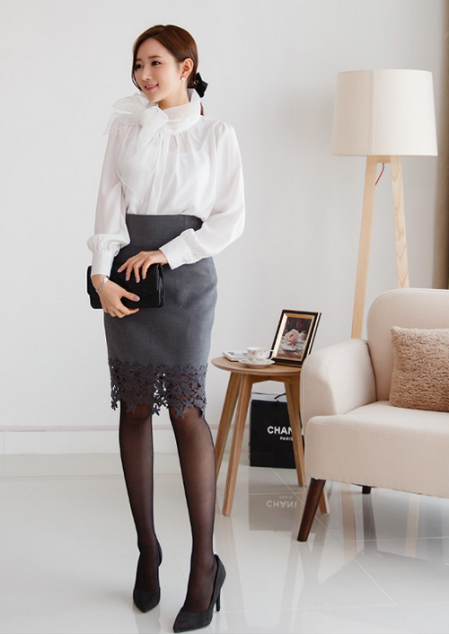 """Thời trang cho nữ công sở trong tiết """"đỏng đảnh"""" - 2"""