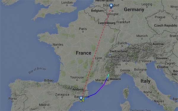 Máy bay Airbus A320 chở 150 người rơi tại Pháp - 3