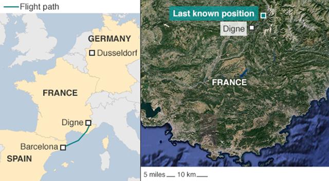 Máy bay Airbus A320 chở 150 người rơi tại Pháp - 2