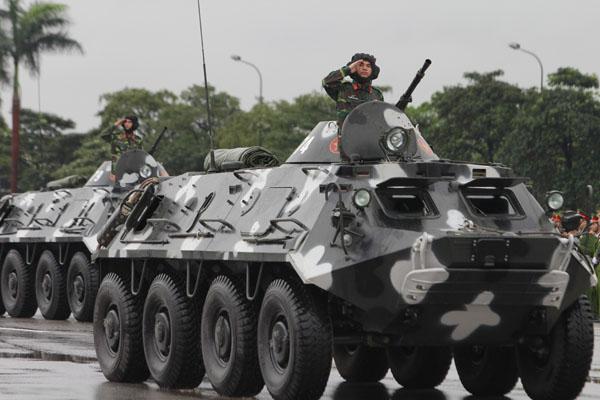 """Ngắm dàn xe """"khủng"""" chống bạo động của công an Hà Nội - 5"""
