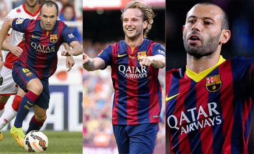 Hàng tiền vệ Barca sa sút: Đâu rồi thời hoàng kim - 1