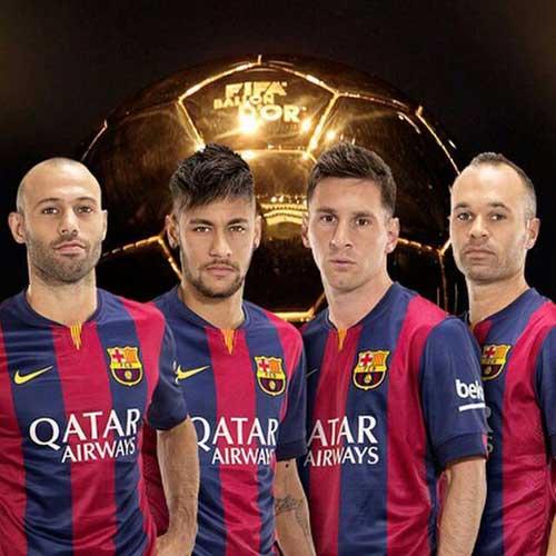 Hàng tiền vệ Barca sa sút: Đâu rồi thời hoàng kim - 2