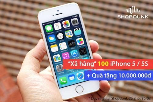 """""""Tuần lễ vàng"""" xả hàng iPhone – iPad giá gốc tại ShopDunk - 1"""