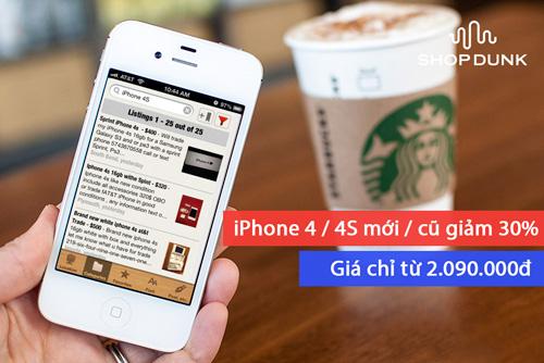 """""""Tuần lễ vàng"""" xả hàng iPhone – iPad giá gốc tại ShopDunk - 3"""