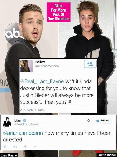 """Mỹ nam One Direction """"đá xéo"""" Justin Bieber - 1"""