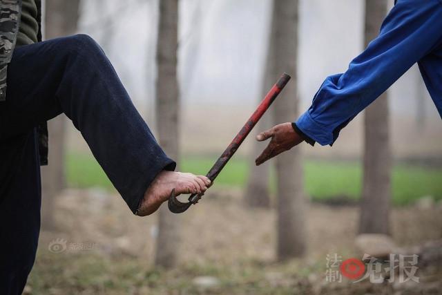 TQ: Lão cụt dắt lão mù trồng 10.000 cây bảo vệ làng - 7