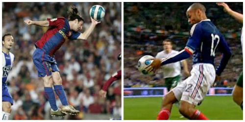 Henry tủi thân vì Messi được ưu ái - 1