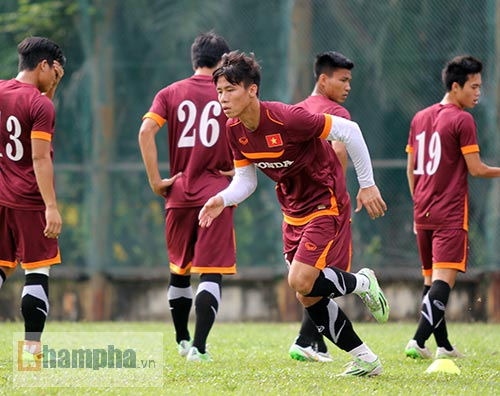 Thủ lĩnh U23 VN muốn có kỷ niệm đẹp ở sân Shah Alam - 1