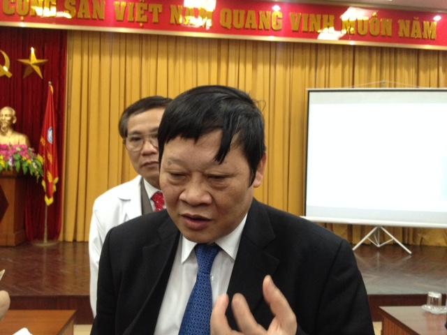 Vụ từ chối mổ cho người viết báo: Thứ trưởng Bộ Y tế trải lòng - 1